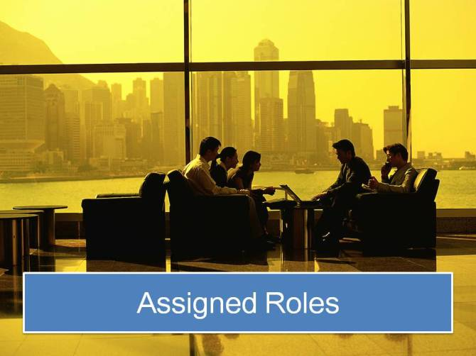 Assigned Roles 3