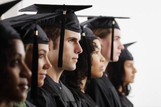 Graduates in Cap and Gown